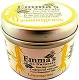 Emma's Eco-Candela di cera di soia alla citronella in scatola di latta