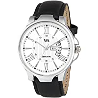 Watch Me Analogue White Dial Leather Men's Watch