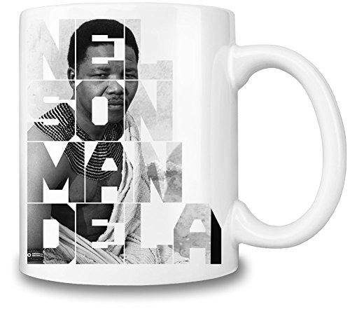 Nelson Mandela Portrait Mug Cup
