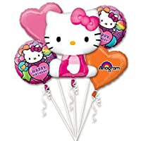 Anagram International Hello Kitty Rainbow Bouquet, Multicolor
