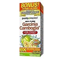 Garcinia Cambogia, 9x, with Green Coffee, 1600 Mg 100 Tablets
