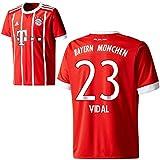 adidas FC Bayern München FCB Herren Home Trikot 2017 2018 Arturo Vidal 23 Gr L