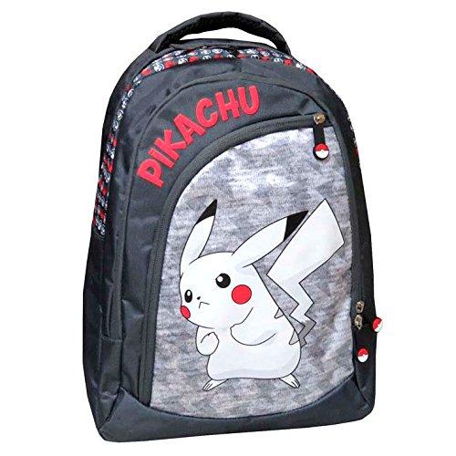 Pokemon Sac à dos grand à trois compartiments de...