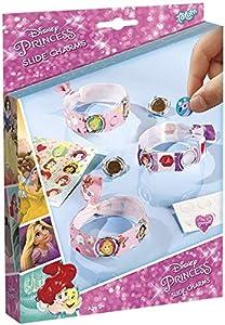 Totum - Kit Creativo Disney Princesa Slide Charms- CREA Tus Pulseras, 44241, Multicolor