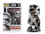 Funko Pop Star Wars Smugglers Bounty Exclusive - Captain Phasma Chrome