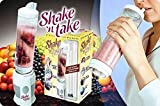 Moldes, silicona 'Shake 'n Take Batidora de vaso y proteína Shake Maker con Botella Extra Sport,...