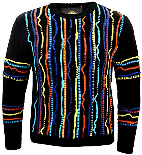 Paolo Deluxe Goldline Sweater Ramon Muster All Over (S) - Deluxe Pullover