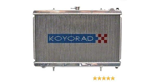 Koyo HH020252N 53mm N-FLOW Racing Radiator for 1989-94 Nissan 180SX SR20DET