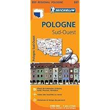 Carte Pologne Sud-Ouest Michelin
