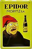 EPIDOR Moritz Poster publicitario con diseño Retro Vintage