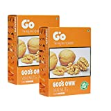 #5: Go Organic Light Broken Walnut Kernels Pack of 2 Each 250gm