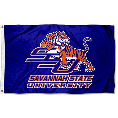 Savannah State University Tigers (Savannah State University Tigers 3x 5Flagge)