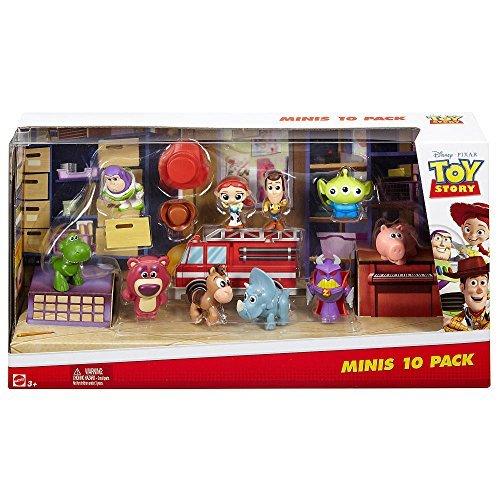 Toy Story dyn69Minis cifras (Pack de 10)