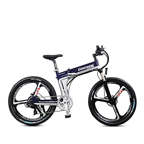 "513ea9b2bxL. SS500  - GTYW Electric Folding Bicycle Mountain Bicycle Adult Bicycle - 26""-90km Life"