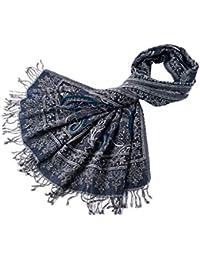 Stole Sciarpa di Lana Bollita Sciarpa Autunno E Inverno Spesso Caldo Vento  Nazionale Sciarpa Indiano A 189850067938