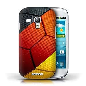 Stuff4 Hülle / Hülle für Samsung Galaxy S3 Mini / Deutschland Muster / Fußball Nationen Kollektion