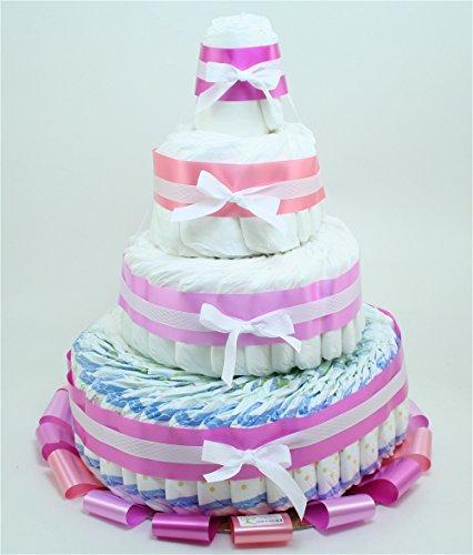 torta-di-pannolini-chicco-4-piani-rosa