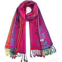 MRULIC Echarpes foulards femme Foulards Echarpe Foulard Long dame coton  candy couleur écharpe châle écharpe femme 5f893e4f972