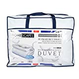 Homescapes White Duck Feather & Down 15 Tog King Size Duvet - 100%