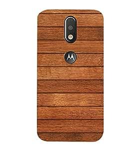 99Sublimation Wooden Stripes Background 3D Hard Polycarbonate Designer Back Case Cover for Motorola Moto G4 Plus