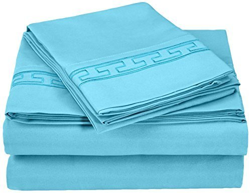 super-soft-light-weight-100-brushed-microfiber-full-wrinkle-resistant-4-piece-sheet-set-aqua-with-re