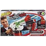 Nerf Vortex Pyragon Blaster - 40 Disc Rapid Slam Fire Gun