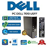 MINI PC DELL 7010 USFF CORE I5 3470S/8GB/240GB SSD/DVD/WIN 10 PRO (Ricondizionato)
