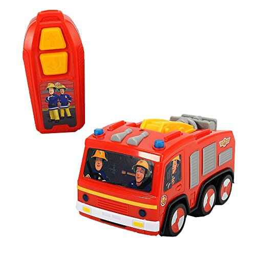 feuerwehrmann sam ferngesteuert DICKIE-Spielzeug 203093003 - Feuerwehrmann Sam IRC Jupiter, Spiel