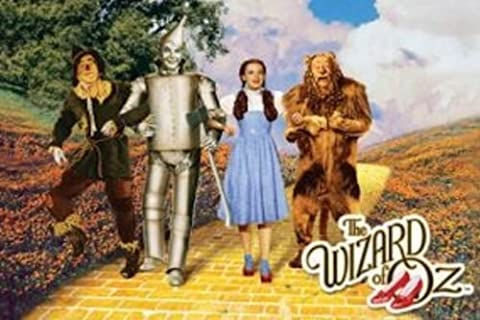 The Wizard of Oz - Yellow Brick Road Art Print Poster