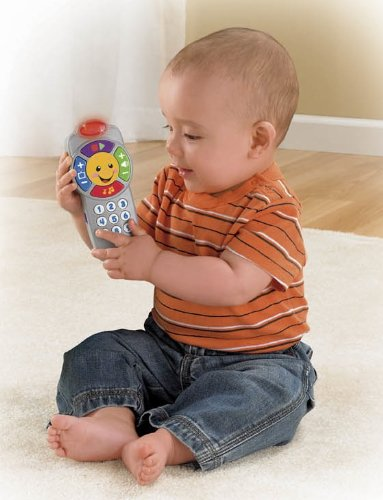 Fisher Price Laugh and Learn Click 'n Learn Remote