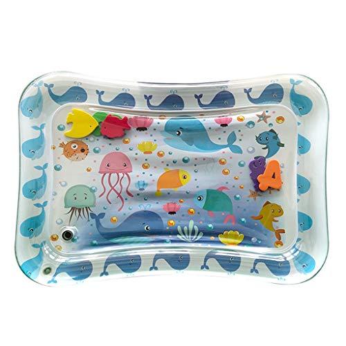 Outdoor Hof Kinder Wasser Pool Sprinkle Splash Spielmatte Pad Spielzeug - Weiß Planschbecken , Aufblasbar Baby Unterhaltung Krake, Wal, AktivitäTen Game Center Baden Pool (Weiß)