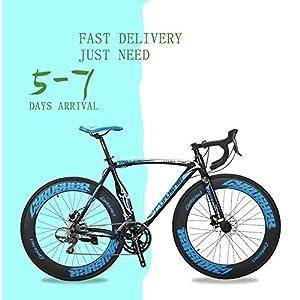 513eiKguc%2BL. SS300 Extrbici Bici da corsa sportiva da corsa XC700Professional 700Cx700MM Ruota da 56 cm Telaio leggero in alluminio da 16…