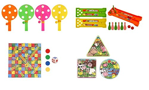 mini-party-games-snakes-and-ladders-puzzle-maze-bowling-ally-and-hi-low-game