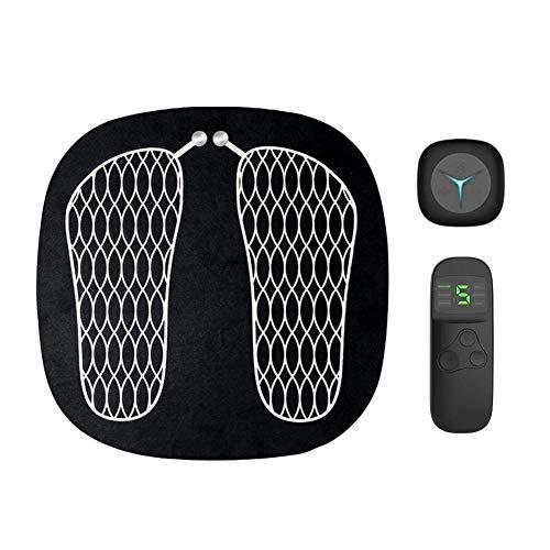 DDPP Elektrische EMS Vibration Fußmuskel Massage Stimulator Physiotherapie Pediküre Smart Massager Fußgesundheit Cross Pad