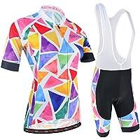 BXIO Color de Las Mujeres Ropa de Ciclo MTB Jerseys de Ciclo XXXL Mulit