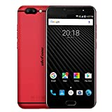 "Ulefone T1 Smartphone 4G Android 7.0 (Helio P25 Octa-core 2.6GHz, 5.5"" FHD Schermo, 6GB RAM 64GB ROM, 16MP+5MP+8MP Camera, Fingerprint ID, Dual SIM, Dual band WIFI, 3680mAh Batteria, Carica rapida) Rosso"