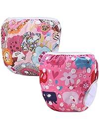 Storeofbaby Couches de bain réutilisables bébé couverture imperméable pour  0-36 ... 3def1d034dc