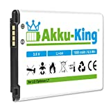 Akku-King Akku für LG Optimus L7, L5 II, P700, P705, P750, AS730, LG730, E455, Motion 4G, E440 - ersetzt BL-44JH, EAC61839001 Li-Ion 1800mAh