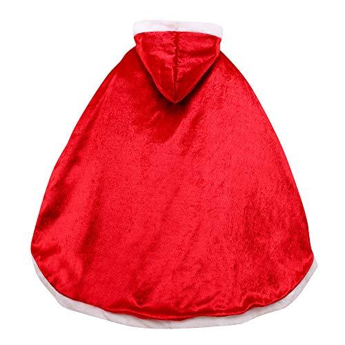 Le SSara Princesa de Las niñas de Navidad Disfraces Cosplay Vestido de Mariposa (120, PJ-Red)