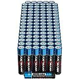 ANSMANN Batterien AAA Alkaline Größe LR03 - AAA Batterie für Teelicht (96 Stück Vorratspack)