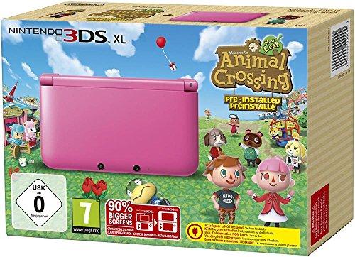 Nintendo 3DS XL – Konsole Pink inkl. Animal Crossing