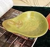 Dipinto a mano in ceramica piccola ciotola di spuntino ciotola di insalata ciotola fruttiera Bottle gourd