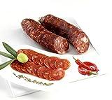 Salume Salsiccia Piccante Calabrese Stagionata Artigianale con Peperoncino 350 / 400 gr. circa