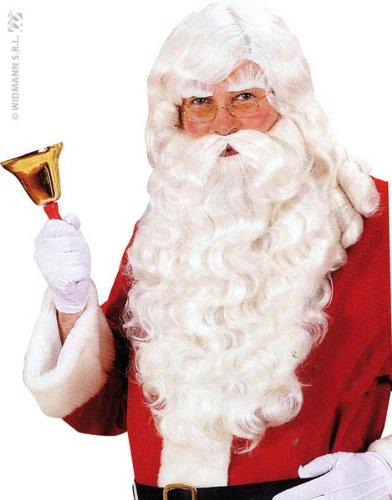 WIDMANN S0785 - Perücke Santa Claus inklusive Bart und ()