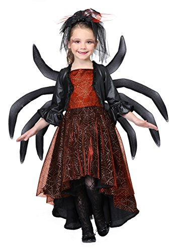 Girl's Spooky Widow Dress Fancy dress costume X-Large (Spooky Fancy Dress)