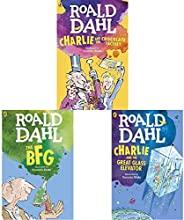 Charlie and the Chocolate Factory + The BFG + Charlie and the Great Glass Elevator(Set of 3 Books)