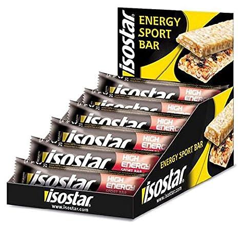 Isostar High Energy Bar Box 30Verrou 40g multi Fruit