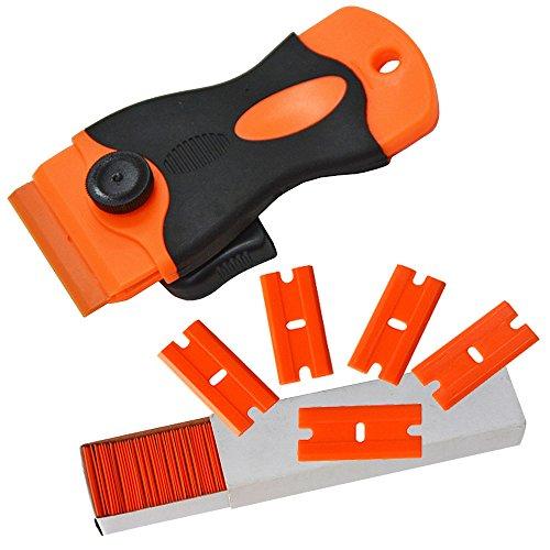 ehdis-cn051p-cn053-car-sticker-remover-plastica-lama-raschietto-con-100-pezzi-di-plastica