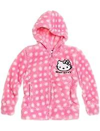 Hello Kitty Mädchen Coral Fleece Jacke - rosa
