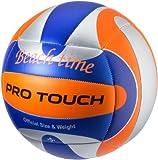 Pro Touch Time Beach Volleyball Ball, Blau/Weiß/Orange, 5